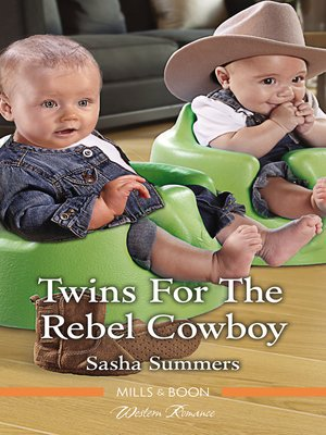 cover image of Twins For the Rebel Cowboy