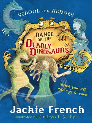 cover image of Dance of the Deadly Dinosaurs