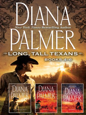 cover image of Diana Palmer Long, Tall Texans Series Books 4-6