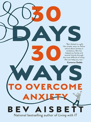 cover image of 30 Days 30 Ways to Overcome Anxiety