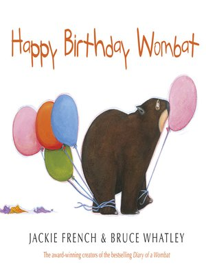 cover image of Happy Birthday Wombat
