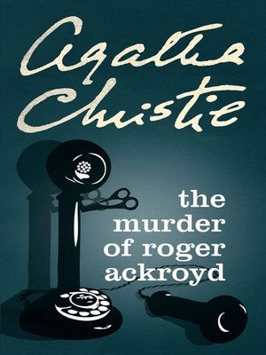 cover image of The Murder of Roger Ackroyd