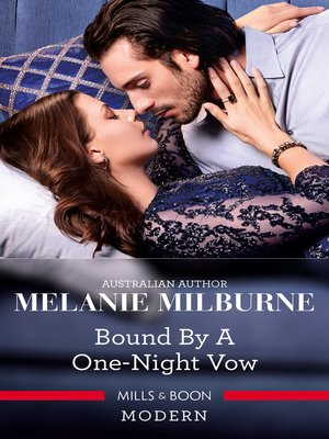 cover image of Bound by a One-Night Vow