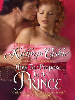 cover image of How to Propose to a Prince