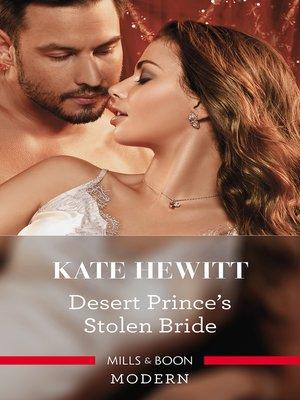 cover image of Desert Prince's Stolen Bride