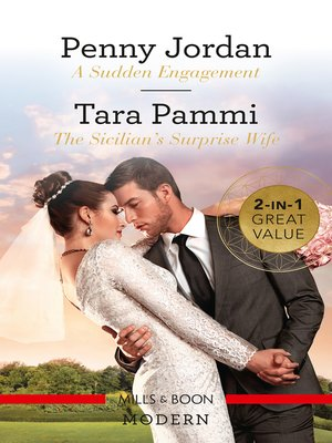 cover image of A Sudden Engagement / The Sicilian's Surprise Wife