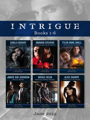 cover image of Intrigue Box Set 1-6/Desperate Measures/Incriminating Evidence/Reining in Trouble/Within Range/Wyoming Cowboy Ranger/Identical Stranger