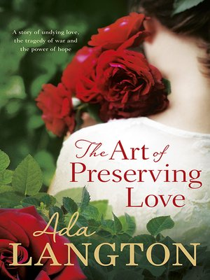 cover image of The Art of Preserving Love