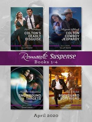cover image of Romantic Suspense Box Set 1-4