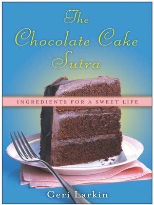 cover image of The Chocolate Cake Sutra