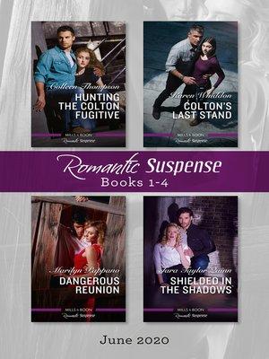 cover image of Romantic Suspense Box Set 1-4 June 2020