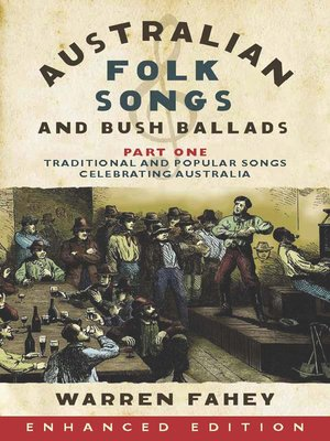 cover image of Australian Folk Songs and Bush Ballads, Part One