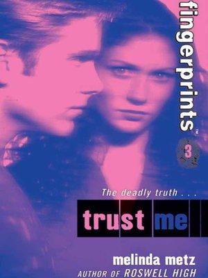 cover image of Fingerprints- Book 3: Trust Me