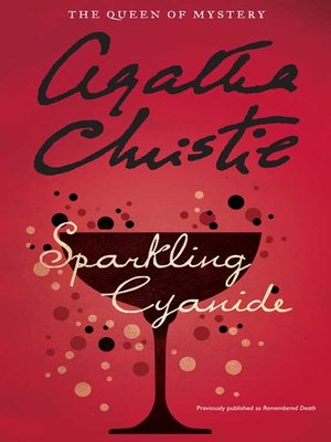 cover image of Sparkling Cyanide