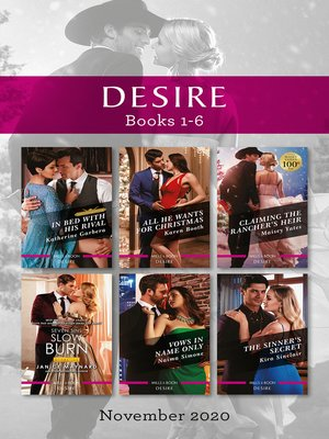 cover image of Desire Box Set 1-6 Nov 2020