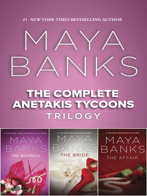 cover image of The Complete Anetakis Tycoons Trilogy