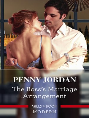 cover image of The Boss's Marriage Arrangement