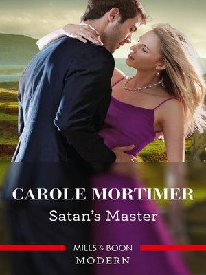 cover image of Satan's Master