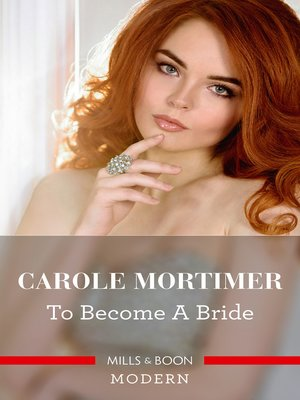 cover image of To Become a Bride
