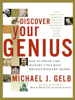 cover image of Discover Your Genius