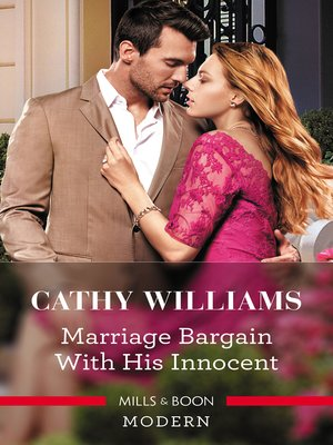 cover image of Marriage Bargain with His Innocent
