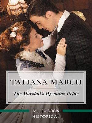 cover image of The Marshal's Wyoming Bride