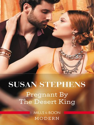 cover image of Pregnant by the Desert King