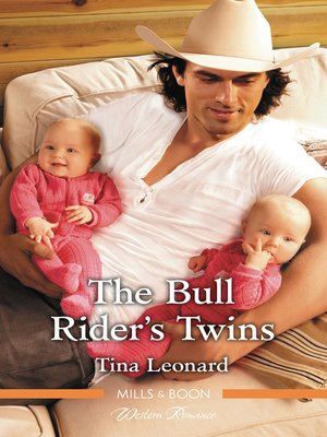 cover image of The Bull Rider's Twins