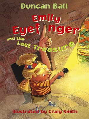 cover image of Emily Eyefinger and the Lost Treasure