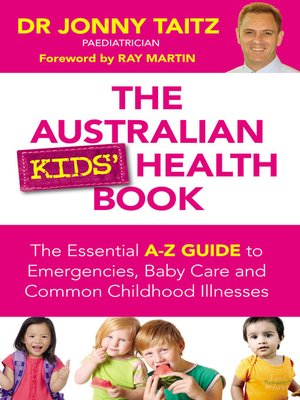 cover image of The Australian Kids' Health Book