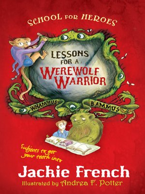 cover image of Lessons for a Werewolf Warrior