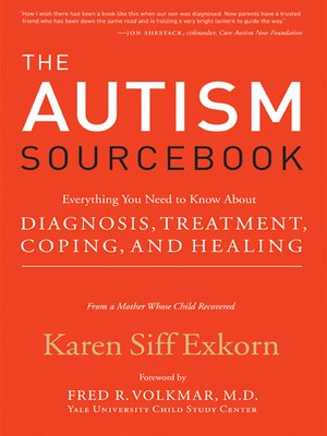 cover image of The Autism Sourcebook