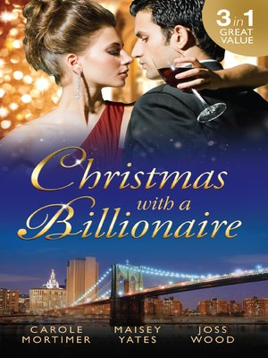 cover image of Christmas With a Billionaire--3 Book Box Set