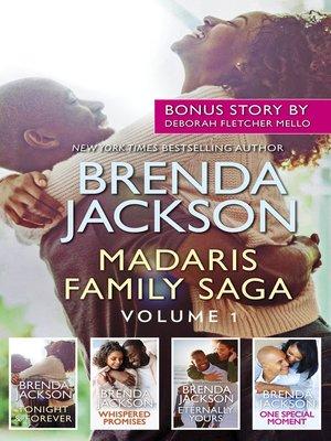 cover image of Madaris Family Saga, Volume 1