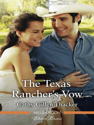 cover image of The Texas Rancher's Vow
