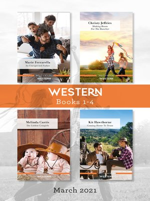 cover image of Western Box Set Mar 2021