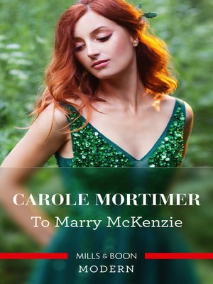 cover image of To Marry MckeNZie