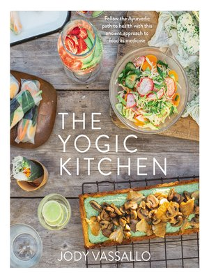 cover image of The Yogic Kitchen