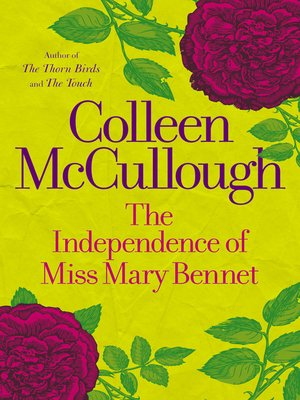 cover image of The Independence of Miss Mary Bennet
