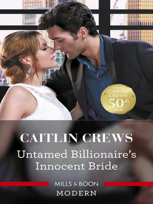 cover image of Untamed Billionaire's Innocent Bride
