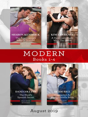cover image of Modern Box Set 1-4/The Argentinian's Baby of Scandal/His Forbidden Pregnant Princess/The Maid's Spanish Secret/Contracted as His Cinderell