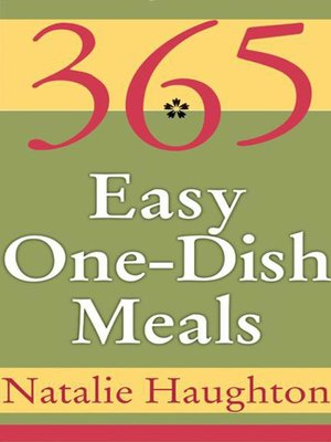 cover image of 365 Easy One-Dish Meals