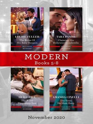 cover image of Modern Box Set 5-8 Nov 2020