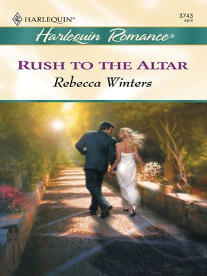 cover image of Rush to the Altar