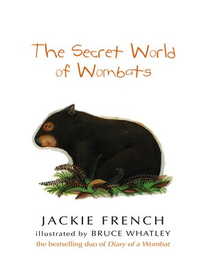 cover image of The Secret World of Wombats