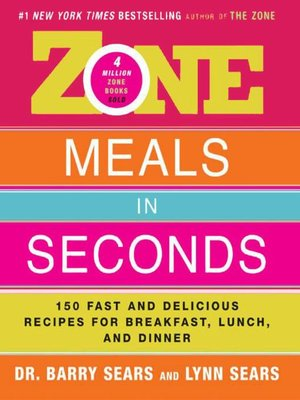 cover image of Zone Meals in Seconds