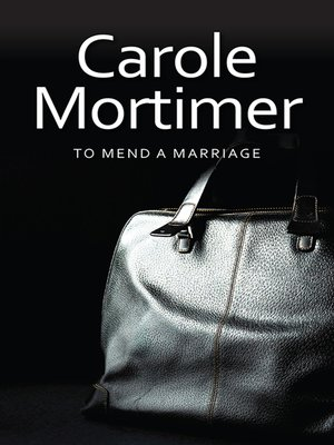 cover image of To Mend a Marriage