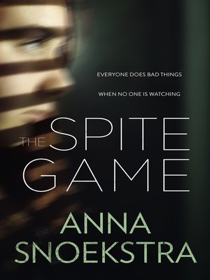 cover image of The Spite Game