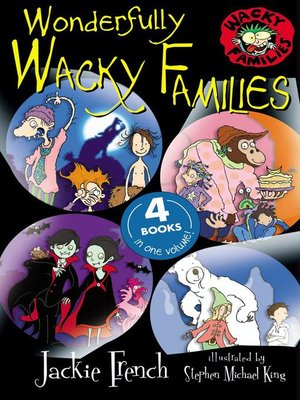 cover image of Wonderfully Wacky Families