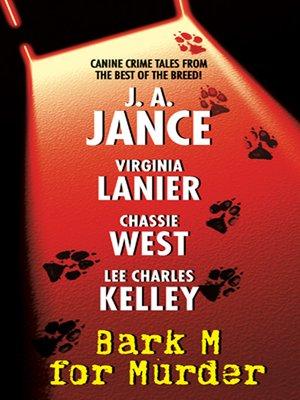 cover image of Bark M for Murder